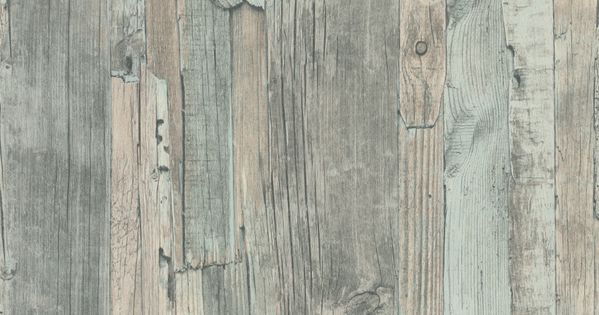 Distressed Wood Duck Egg Duck Egg Wallpaper By Albany