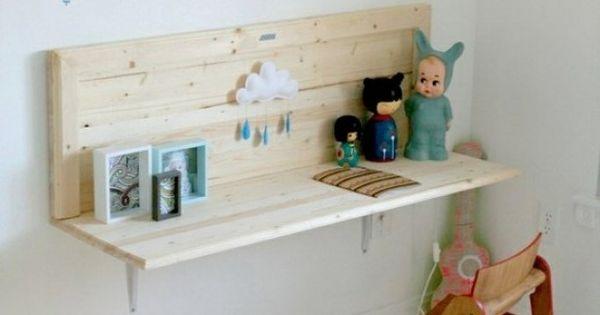 goede oplossing voor een bureau in een kleine kamer kamer meisje pinterest bureaus. Black Bedroom Furniture Sets. Home Design Ideas