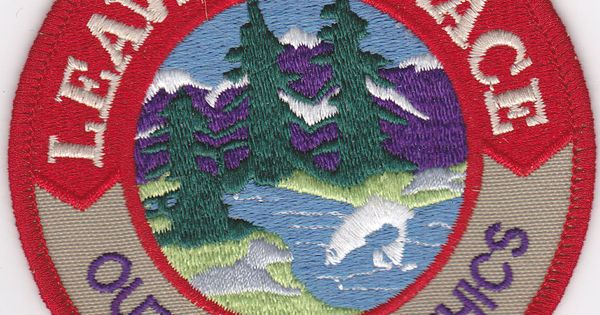 Leave no trace patches