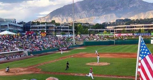 Orem Utah Ballpark Minor League Baseball Baseball Stadium Baseball Park