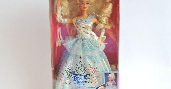American Beauty Queen Barbie, NIB, Vintage Barbie Doll