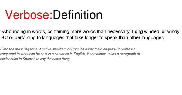 Good Morning In German Pronunciation : Verbose definition word of the day pinterest definitions