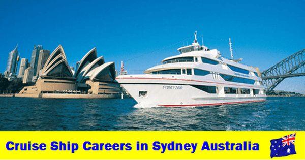 Cruise Ship Careers In Sydney Cruise Ship Cruise Ship