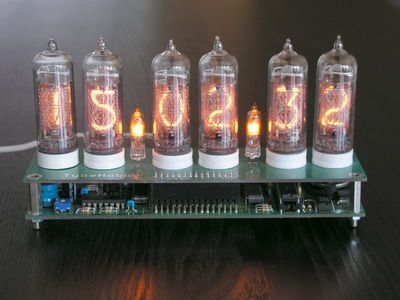 NCV2 1-14 - Nixie clock kit with IN-14 nixie tubes  | Nixie