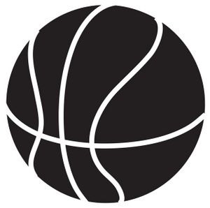 Basketball Clip Art Black And White Clipart Panda Free Clipart Images Basketball Vinyl Decal Sports Vinyl Decals Basketball Silhouette