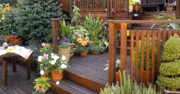 Transform a steep slope into valuable living space by straddling it with