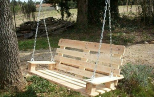 diy schaukel aus europaletten 25 m rchenhafte ideen f r sie outdoor pinterest. Black Bedroom Furniture Sets. Home Design Ideas