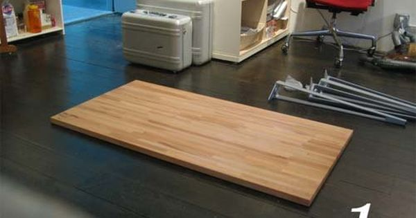 Great Diy Desks With Ikea Countertops And Legs Diy Desk Ikea Diy Ikea Desk