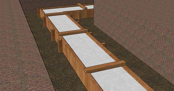 How To Build A Concrete Foundation Building Foundation Concrete Steps Home Construction