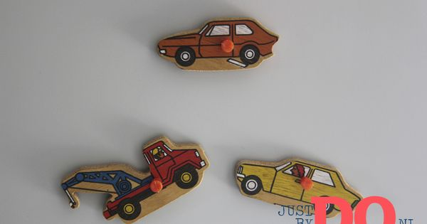 Diy magnets for boysroom on magneten versieren justbydo kinderkamer ideeen - Versieren kinderkamer ...
