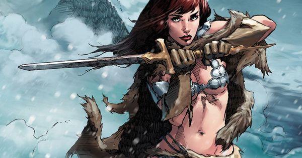 Red Sonja Winter Swordplay Wallpaper By Gilgamesh Scorpion Red Sonja Wallpaper Red
