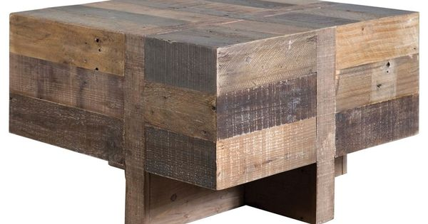 Four hands sierra 26 square rustic natural wynne side for Best coffee tables under 500