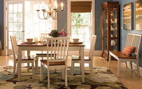 Ashby 6 pc dining set dining sets raymour and for Latest trends in dining table sets