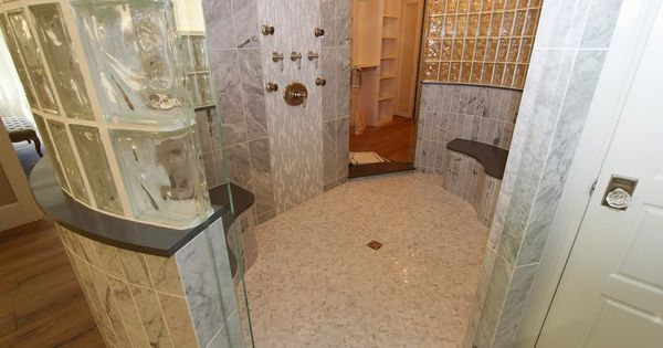 Master Bathroom With His And Hers Separate Counter Space There Is A Large Je