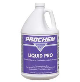 Prochem Liquid Pro Fine Fabric And Carpet Detergent Extraction Cleaner Concentrate 1 Gallon S781 Detergent Product Carpet Shampoo Upholstery Cleaner