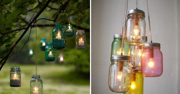 itu0027s all in the details: ten ways with mason jars | Pinterest | Masons,  Back yard and Mason jar