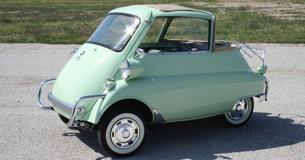 My Dream Car : ) 1957 BMW Isetta 300 Cabriolet