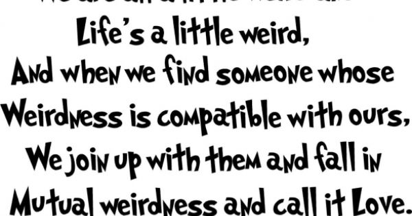 Dr. Seuss knows a thing or two about life.