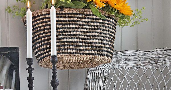Sunflowers girasoles pinterest cestas decorativas - Cestas decorativas ...
