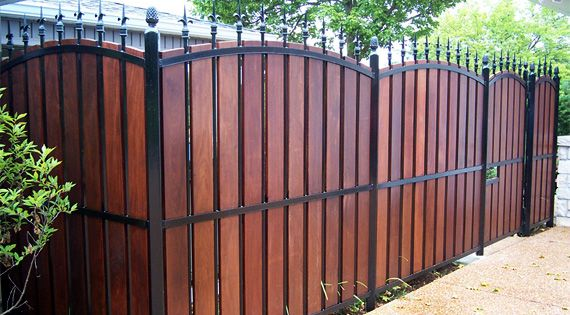 Fencing A Guide To The Options Backyards Fence Ideas