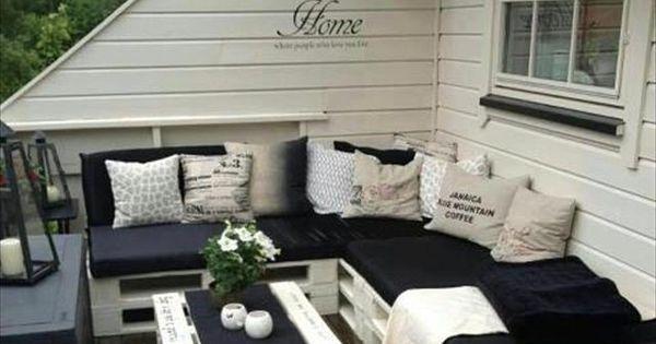 Top 30 DIY Pallet Sofa Ideas | 101 Pallets: So fun! Great