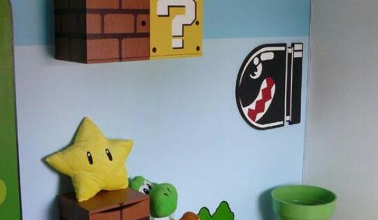 mario bross kid room salon pinterest chambre des fr res geeks et fr re. Black Bedroom Furniture Sets. Home Design Ideas