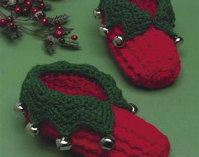 Free Crochet Pattern For Baby Elf Slippers : Kids Elf Slippers - Free Pattern (Child sizes - and kids ...
