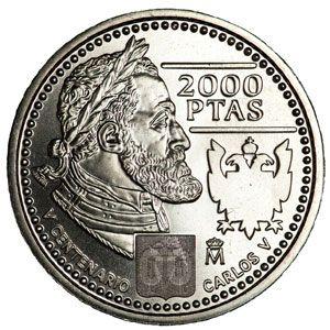 Monedas De 2000 Pesetas En Plata Tienda Numismatica Y Filatelia Lopez Compra Venta De Monedas Oro Y Plata Sellos Es Monedas Monedas De Plata Moneda Española