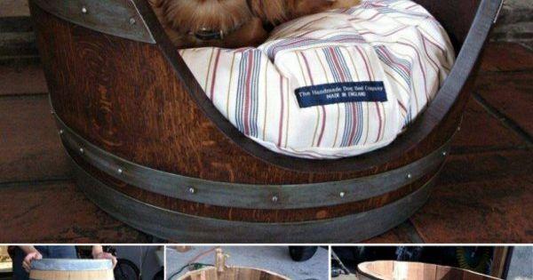diy m bel haustiere hundezubeh r hundebett selber bauen. Black Bedroom Furniture Sets. Home Design Ideas