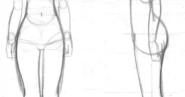 Drawing The Body Form | Draws! 3 | Pinterest | Bodies