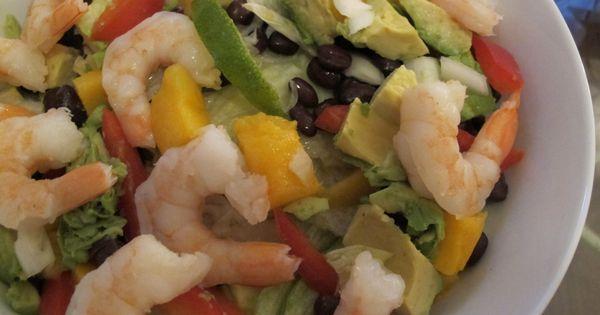 Avocado, Mango + Black Bean Salad   Beans & Lentils   Pinterest ...