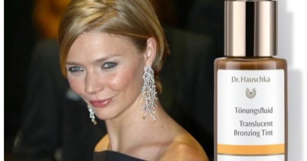 Jodie Kidd Uk Television Personality And Model Chatted With The Telegraph S Stella Magazine Last Sunday About Dr Hauschka Translucent Bronzing Tint Genieten
