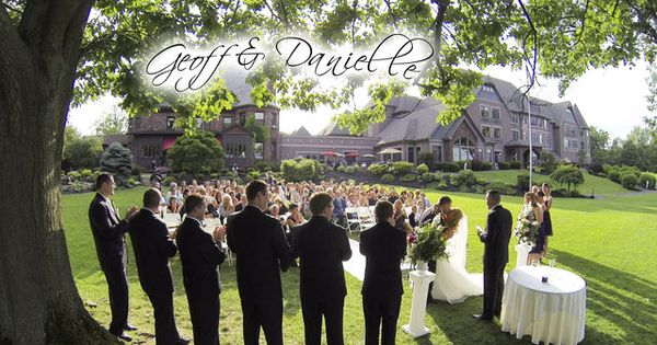 Banquet Halls In Buffalo New York : Ceremony reception at belhurst castle geneva ny produced by buffalo