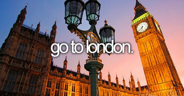 bucket list: go to london and meet one direction!!