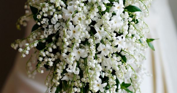 Stunning lily of the valley bridal bouquet. lilyofvalley bridalbouquet white