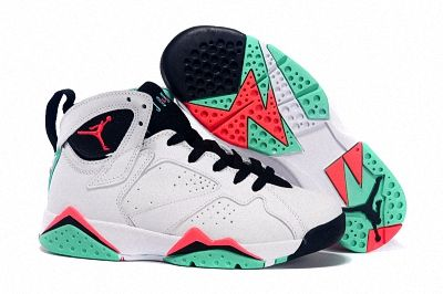 the latest 839ad ade1c Air Jordan 7 GS Verde White Black Verde Infrared 23 Poison Green   Best  Quality Jordans Shoes   Pinterest   Jordans, Air jordans and Jordan 7