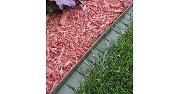 Bordure Stop Herbe Avec Rebord Sureleve Vert Fonce Bordure Jardin Jardins Bordure Pelouse