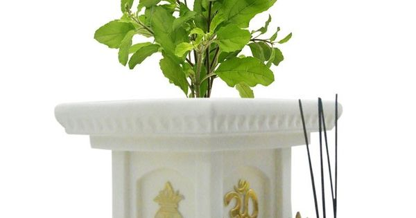 Tulsi Pot Design Google Search Tulsi Kyaro Pinterest
