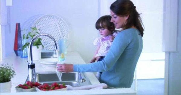 Kludi E Go Hybride Keukenmengkraan Elektroniken Praktisch