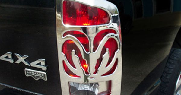Pin By Marcia Hintz On Dodge Ram Must Haves Dodge Ram Accessories Dodge Ram 1500 Accessories Tail Lights Covers
