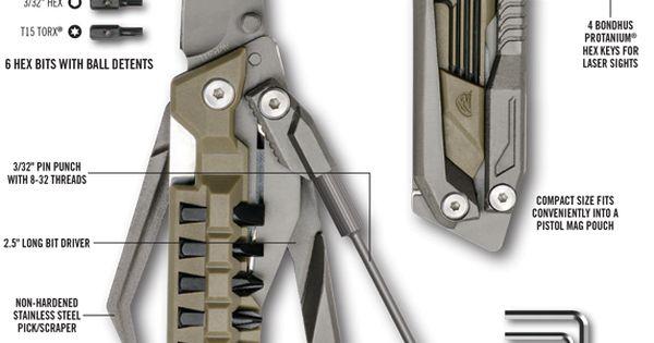 Reav-pistoltool-pg_copy | Yassss | Pinterest | Pistolen, Punsch ... Klax Multi Tool Kombination Axt Hammer