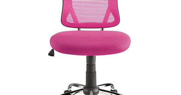 Brenton Studio Mesh Mid Back Chair Pink Black Craft