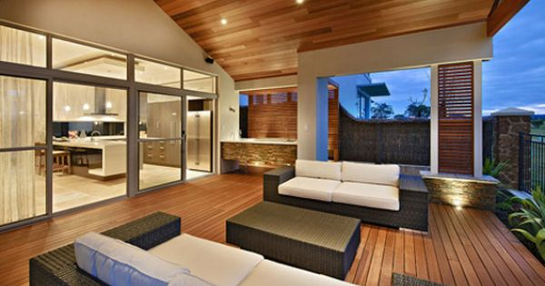 Outdoor living space good concept i like this after for Outdoor living concepts