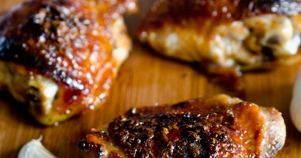 Sweet and Sticky Honey Garlic Chicken by The Endless Meal Yummy! Will