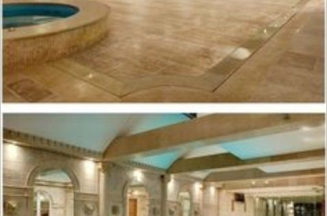 This Hydrofloor Variable Depth Pool Has A Floor That Rises Up And Down By Hydraulics To Either