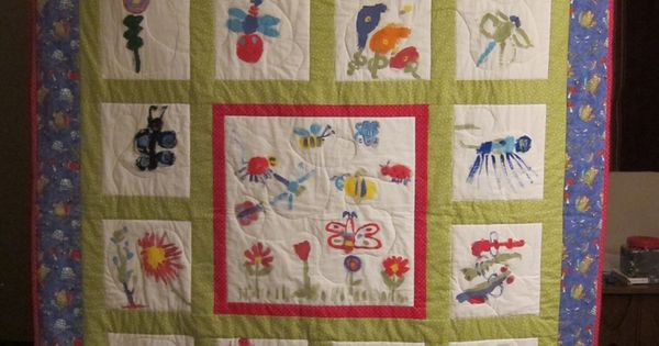 Quilting Class Ideas : quilt for school auction fundraiser School Auction Projects art and class project ideas ...