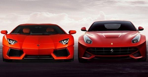 Ferrari F12 Berlinetta & Lamborghini Aventador