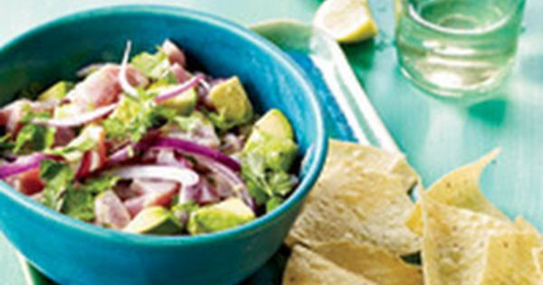 Ceviche, Cilantro and Tuna on Pinterest