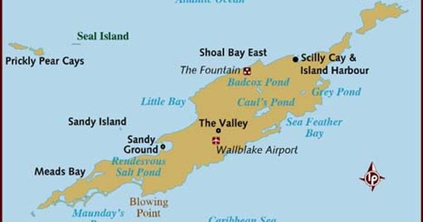 Lonely Planets Anguilla Map Caribbean Bermuda Maps - Map of anguilla