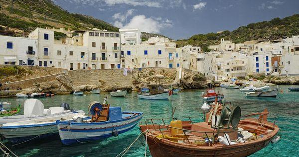 Cala Dogana, Sicily italy travel http://marinas.com/view/marina/6381_Cala_Dogana_Marina_Levanzo_Sicily_Italy